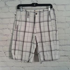 Mossimo Supply Company Plaid Shorts Sz:28